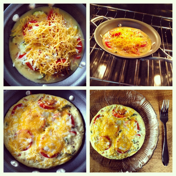 easiest frittata ever.