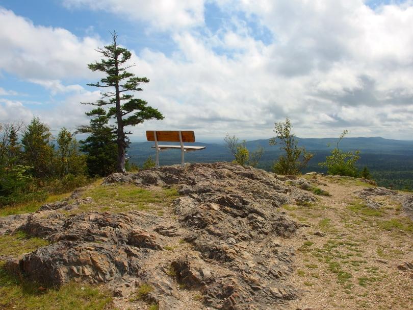 top of Mount Haystack