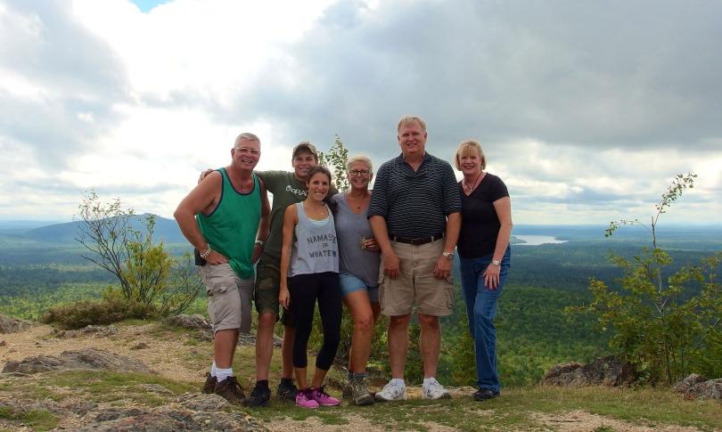 everyone on Mount Haystack